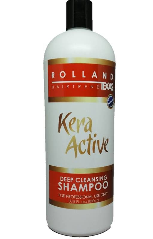 kera active deep cleansing shampoo
