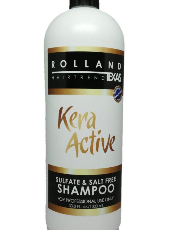 kera active salt free shampoo